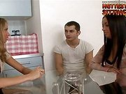Russian BEST - Nastya humiliates husband and hi...