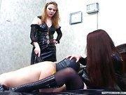Happy Femdom - 2 Russians Girls