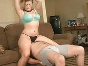 Thong Panty Smother