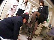 Office femdom- who is boss now?