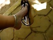 divine feet of indian goddess1