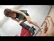 Japanese Boot fetish femdom trample