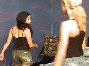 Lesbian trampling submission trample tits massa...