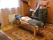 Amateur Russian caning