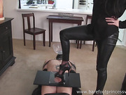 Barefoot princess humiliation